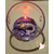 34B-Veilleuse Sirène dans sa bulle parme- au coeur des arts