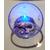34C-Veilleuse Sirène dans sa bulle parme- au coeur des arts