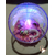 35B-Veilleuse Sirène dans sa bulle rose et verte - au coeur des arts