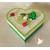 43-Boîte de naissance verte et blanche bébé garçon - au coeur des arts