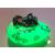 46c-Veilleuse galet lumineux bébé garçon shun vert- au coeur des arts