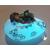 46d-Veilleuse galet lumineux bébé garçon shun vert- au coeur des arts