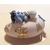 48b-Veilleuse galet lumineux bébé garçon bleu- au coeur des arts