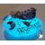 48c-Veilleuse galet lumineux bébé garçon bleu- au coeur des arts