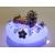 44d-Veilleuse galet lumineux bébé fille Artémisia - au coeur des arts