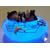 49c-Veilleuse galet lumineux bébé marin- au coeur des arts