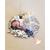 5-Porte bougie bébé fille Lys - au coeur des arts