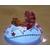 50C-Veilleuse galet lumineux bébé fille Ballerine - au coeur des arts