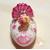 50B-Veilleuse galet lumineux bébé fille Ballerine - au coeur des arts