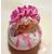 50D-Veilleuse galet lumineux bébé fille Ballerine - au coeur des arts