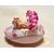 50-Veilleuse galet lumineux bébé fille Ballerine - au coeur des arts