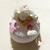 53D-Veilleuse galet lumineux bébé fille Maya - au coeur des arts