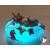51D-Veilleuse galet lumineux bébé Licorne - au coeur des arts