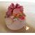 54C-Veilleuse galet lumineux bébé fille  - au coeur des arts