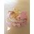 2C-Marque place bébé fille fée clochette rose baptème - au coeur des arts