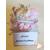 2B-Marque place bébé fille fée clochette rose baptème - au coeur des arts