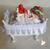 7-Marque place bébé fille fraise baptême - au coeur des arts