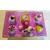 2B-Boîte à sucre rose et jaune - au coeur des arts