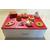 3B-Boîte à sucre rouge et blanche - au coeur des arts