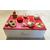 3C-Boîte à sucre rouge et blanche - au coeur des arts