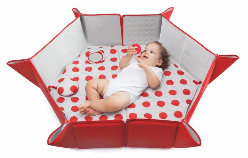 matelas volutif multipositions pili mat pop red garalabosse. Black Bedroom Furniture Sets. Home Design Ideas