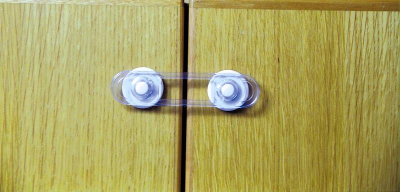 2 mini loquets souples multi surfaces s curit enfant. Black Bedroom Furniture Sets. Home Design Ideas