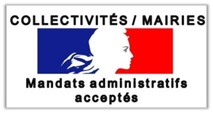 Paiement par mandat administratif possible