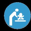 chauffage bébé et équipements pour le change