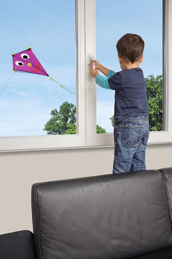 système fermeture de sécurité enfant pour fenêtre et accès balcon