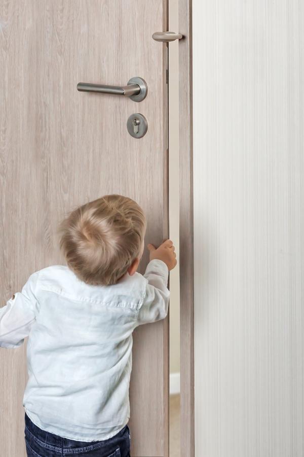 BloquePorte Taupe  Porte  Protection Des DoigtsBloque Porte