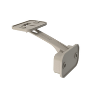loquet de sécurité pour porte de placard et tiroirs, Designline, taupe