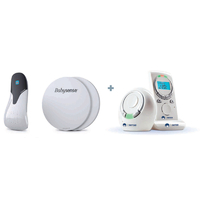 Coffret moniteur respiratoire BabySense 5 et écoute bébé SC 210