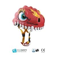 Casque de vélo enfant Dragon Chinois CrazySafety Taille S 49-55 cm