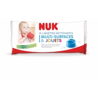 Lingettes nettoyantes multi-surfaces spéciales bébé