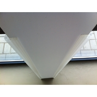 Protection angle de mur standard transparent