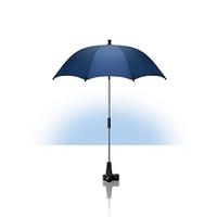 Ombrelle anti-uv pour poussette, bleu marine