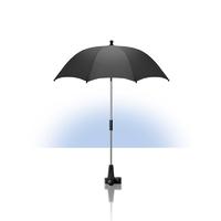 Ombrelle anti-uv pour poussette noire