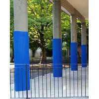 Protection pour poteau et mur