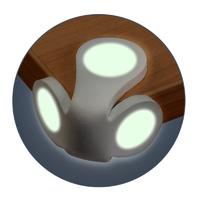 Protège-coins phosphorescents