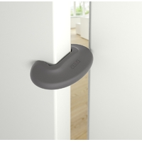 Bloque-porte anthracite