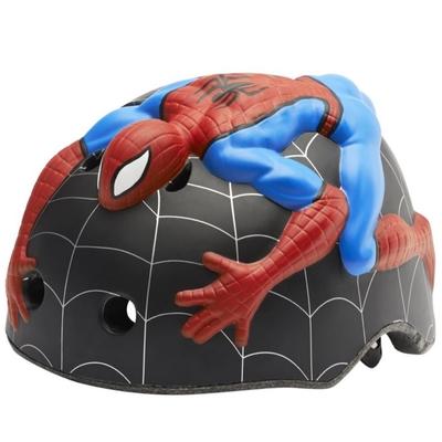 Crazy Safety - Casque de vélo enfant Spiderman avec toile d'araignée_YAPA_AC_019