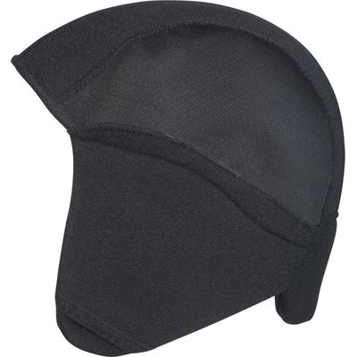 kit hiver noir pour casque de vélo enfant vue de coté_YAPA_CL_006