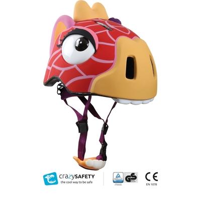 Crazy Safety - Casque de vélo enfant girafe rigolo_YAPA_AC_018