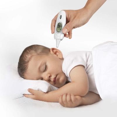 Thermomètre infrarouge 3 en 1 avec enfant endormi prise de température auriculaire_YAPA_HA_015