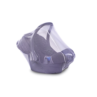 moustiquaire blanche pour coque bébé groupe 0/0+ YAPA-CL-019