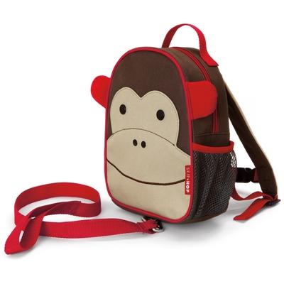 sac à dos harnais enfant motif singe yapa-pc-006