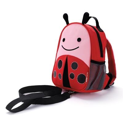 sac à dos harnais enfant motif coccinelle yapa-pc-008