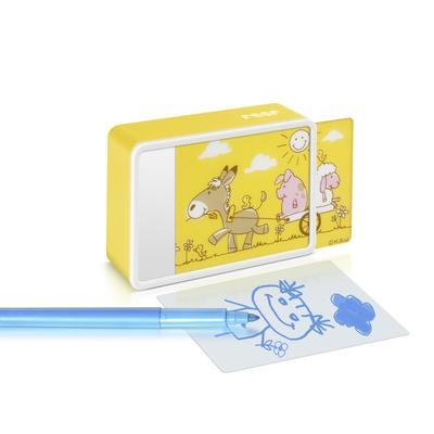 veilleuse Kidslight  Créative ferme jaune LED avec dessin enfant_YAPA_VE_018