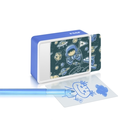 veilleuse Kidslight  Créative Astronaute bleu LED avec dessin enfant_YAPA_VE_017