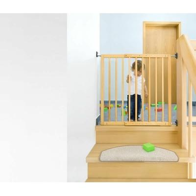 Barrière de Sécurité escalier Extensible à Visser en Bois_YAPA-PA-019